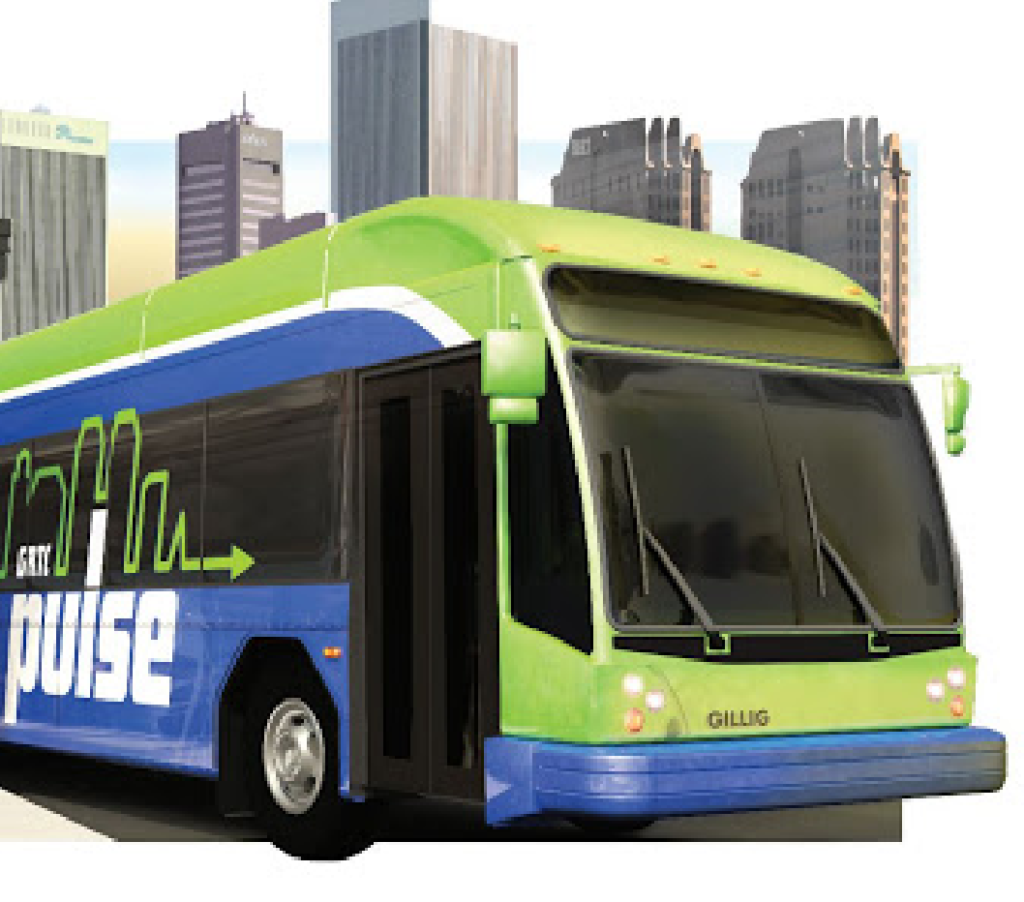 The Greater Richmond Transit Complany Pulse bus rapid transit system in Virginia has been running since June 24, 2018.