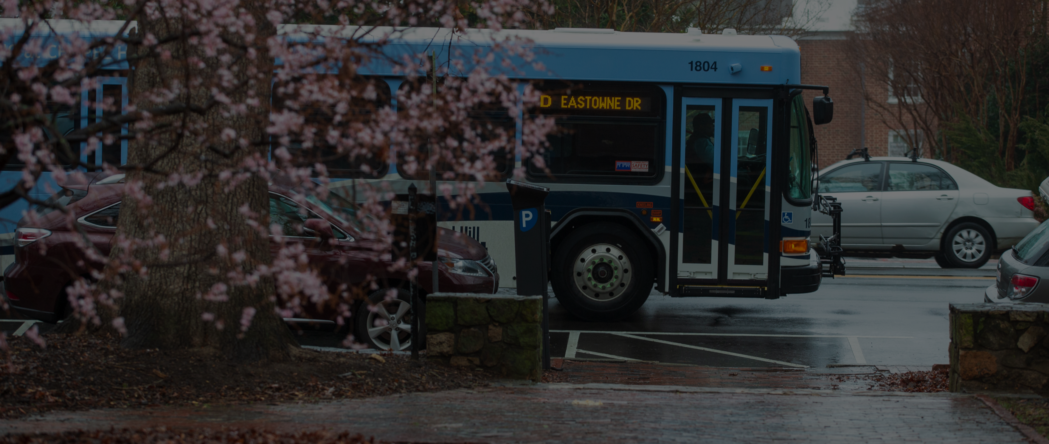 Eastowne Drive Bus Intersection